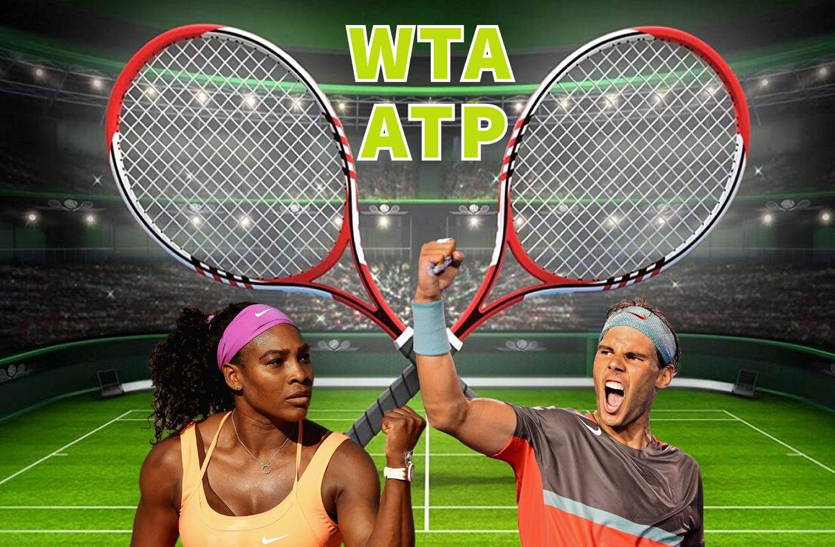 ATP and WTA rankings